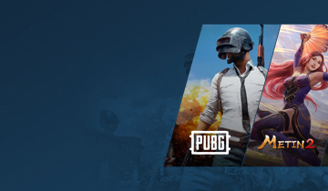 Oyun Pinleri Pubg, Metin 2, LOL ve Steam