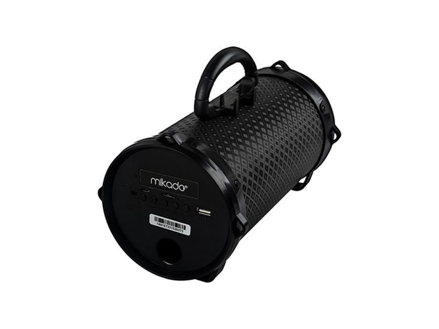 Mikado MD-BT30 Siyah Bluetooth AUX+USB+SD Kartlı Speaker - 8680096096686