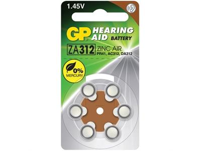 GP 1.4V İşitme Cihazları Pili 6'lı