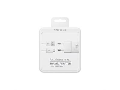 Samsung TA20 Micro Usb Hızlı Seyahat Şarj Aleti - Beyaz