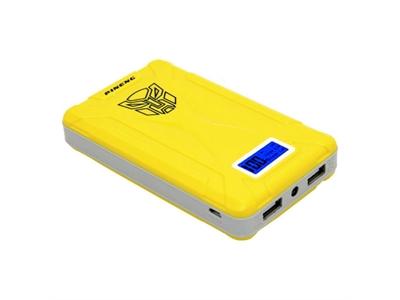 Pineng PN-933 10000 mAh Powerbank Led Dijital Göstergeli Taşınabilir Şarj Cihazı - Sarı