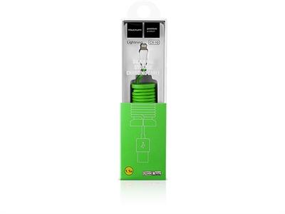 Powerway CX10 iPhone Lightning Data ve Şarj Kablosu - Yeşil