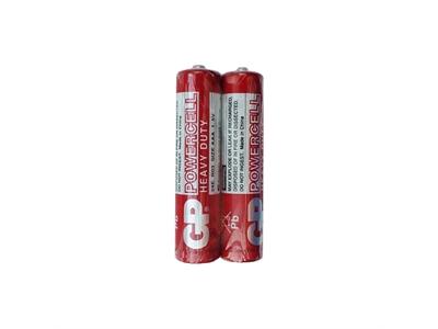 GP 15E Powercell Çinko Karbon AAA İnce Kalem Pil (2'li Shrink)