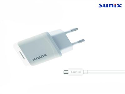 Sunix S220 Tek Çıkışlı Micro 2A Ev Şarj Aleti Set